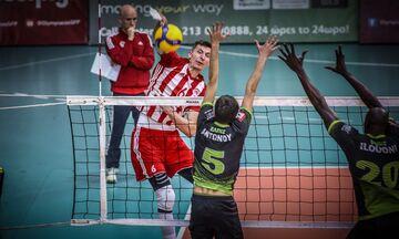 Ολυμπιακός- Ελπίδα Αμπελοκήπων 3-0: Με άνεση στο Φάιναλ Φορ του Κυπέλλου