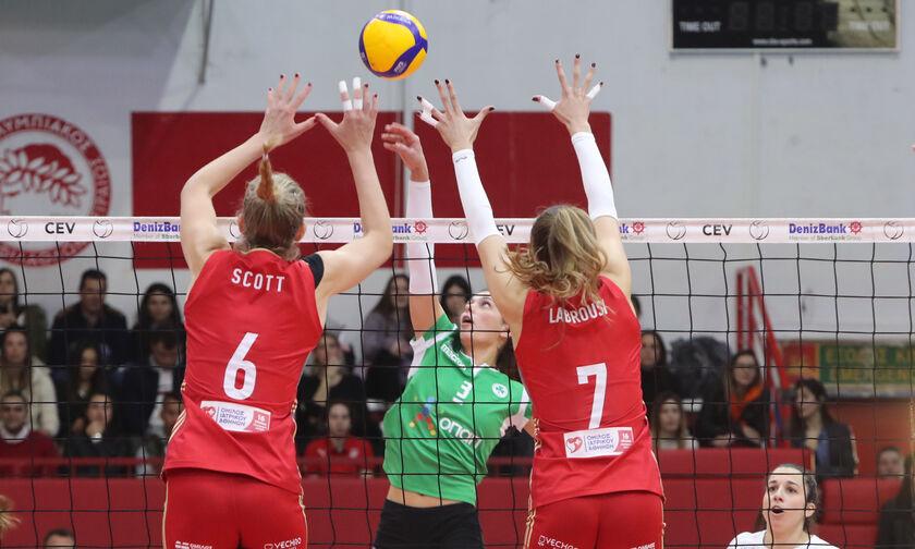 Κύπελλο Βόλεϊ Γυναικών: Η ΕΡΤ θα μεταδώσει το Παναθηναϊκός - Ολυμπιακός
