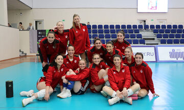 Challenge Cup Volley: Live score: Ολυμπιακός-Γενισέι Κράσνογιαρσκ 2-1 (25-21, 25-17, 23-25)