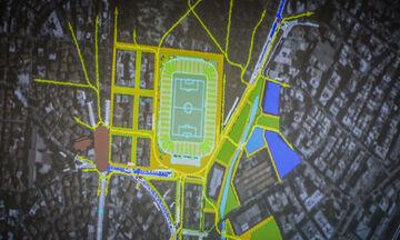 Νέα Φιλαδέλφεια: Οι κυκλοφοριακές ρυθμίσεις για την υπογειοποίηση στο γήπεδο της ΑΕΚ