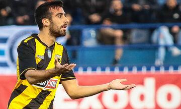 Παναιτωλικός - ΑΕΚ: Το γκολ του Σβάρνα για το 0-1 (vid)