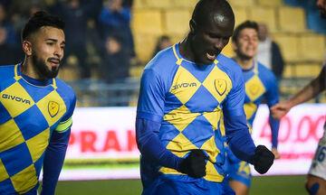 Παναιτωλικός - ΑΕΚ: Το γκολ του Ντάουντα για το 1-1 (vid)