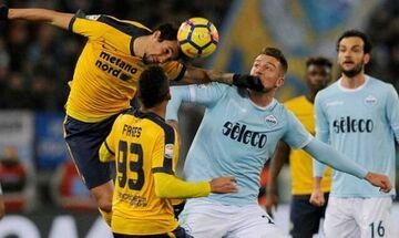 Serie A: Έχασε την ευκαιρία η Λάτσιο, στο 0-0 με τη Βερόνα