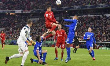 Κύπελλο Γερμανίας: Η Μπάγερν στα προημιτελικά με 4-3 την Χοφενχάιμ