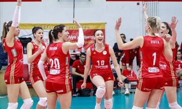 ΕΟΠΕ: Τα συγχαρητήρια σε Ολυμπιακό και ΑΟ Θήρας για την πρόκριση στους «8» του Challenge Cup