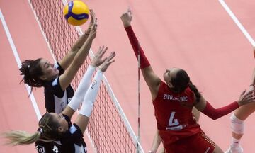 Volley League γυναικών: Live Streaming: ΠΑΟΚ-Ολυμπιακός 1-3 (23-25, 15-25, 29-27, 25-27)