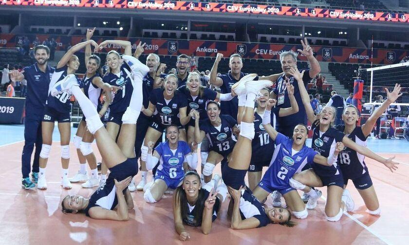 Οι αντίπαλοι των Εθνικών βόλεϊ ανδρών και γυναικών στον δρόμο για το Ευρωπαϊκό πρωτάθλημα 2021