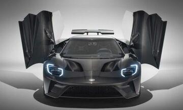 Επικό Ford GT με γυμνό ανθρακόνημα