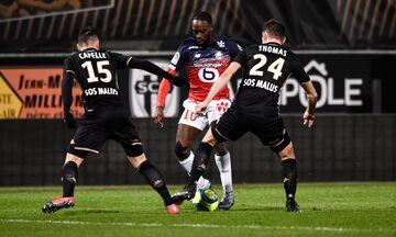 Ligue 1: Ανέβηκε τρίτη η Λιλ, 2-0 την Ανζέ (πρόγραμμα, βαθμολογία)