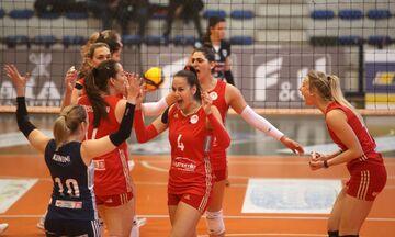 Volley League γυναικών: ΠΑΟΚ - Ολυμπιακός 1-3: Με «δώρα» Μάσεκ, Χαντάβα και αιχμές Χίπε-Ζακχαίου