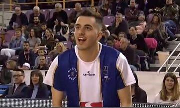 All Star game: Ο Παπαδάκης νίκησε τον Χατζή στο διαγωνισμό τριπόντων! (vid)
