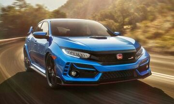 Σας αρέσει το νέο μπλε Honda Civic Type R;