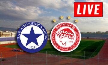 LIVE: Ατρόμητος - Ολυμπιακός (17:15)