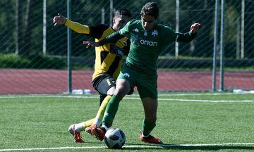Super League K19: Στον Παναθηναϊκό το ντέρμπι, 4-2 την ΑΕΚ