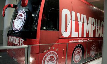 Ατρόμητος - Ολυμπιακός: Η άφιξη των «ερυθρόλευκων» (vid)