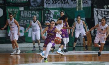 Α1 γυναικών μπάσκετ: Πέμπτη σερί ήττα ο ΠΑΟΚ (βαθμολογία)