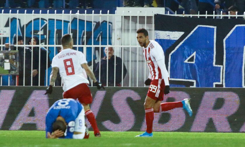 Ατρόμητος-Ολυμπιακός 0-1: Παλικαρίσιο διπλό στο Περιστέρι