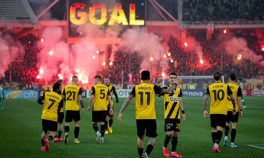 AEK - Παναθηναϊκός 1-0: Με «υπογραφή» Αραούχο