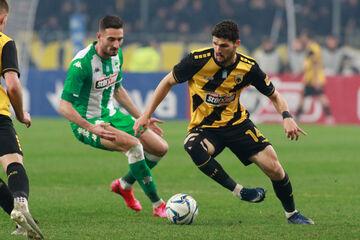 AEK - Παναθηναϊκός 1-0: Τα highlights της αναμέτρησης (vid)