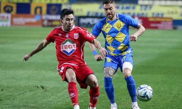 Παναιτωλικός-Βόλος: Το γκολ του Μουνιέ για το 1-0  (vid)