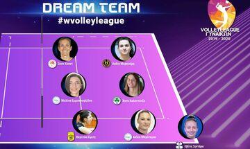 Volley League γυναικών: Με Σκοτ-Χουντ του Ολυμπιακού η καλύτερη επτάδα