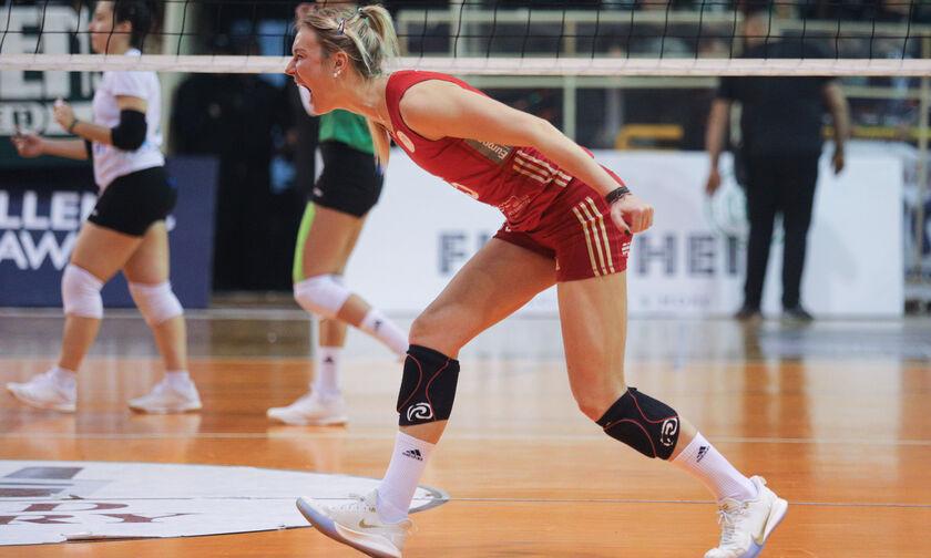Κύπελλο Βόλεϊ γυναικών: Παναθηναϊκός-Ολυμπιακός 2-3: Δια πυρός και σιδήρου και 50-0!