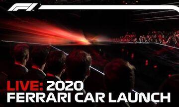 LIVE: Δείτε την παρουσίαση του νέου μονοθέσιου της Ferrari F1 2020!