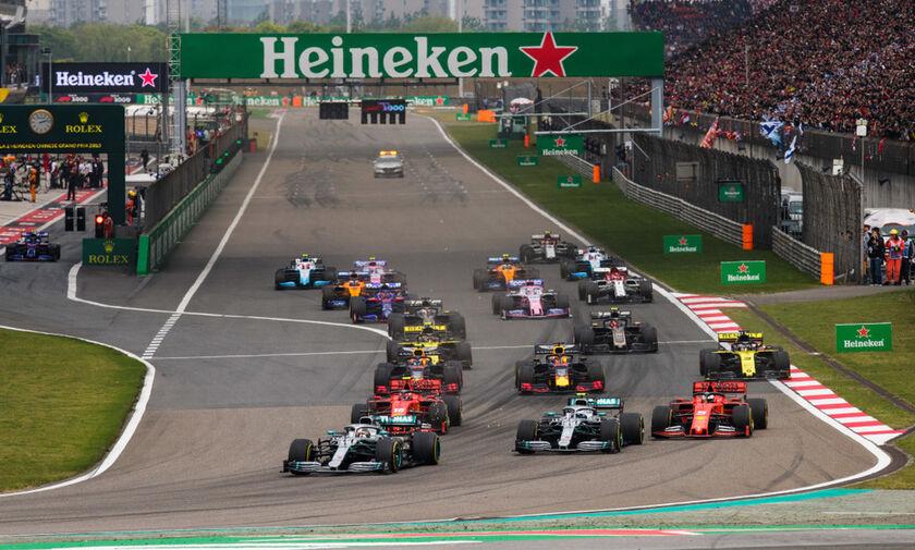 Αναβλήθηκε και επίσημα το Grand Prix της Κίνας λόγω κορωναϊού