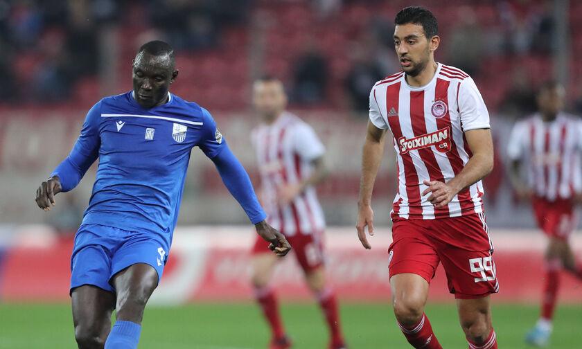 Ολυμπιακός - Λαμία: Το γκολ του Χασάν για το 1-1 (vid)