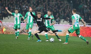 Παναθηναϊκός - ΠΑΟΚ: Το γκολ του Σφιντέρσκι που «πάγωσε» το ΟΑΚΑ (vid)