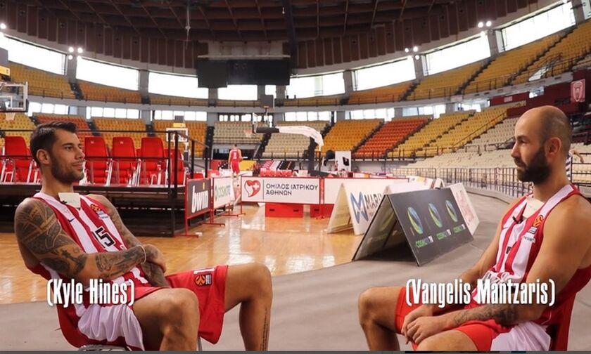 Ολυμπιακός: Πρίντεζης και Σπανούλης παίζουν «Μάντεψε ποιος» (vid)