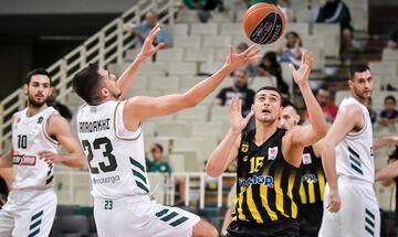 Basket League: Με Άρη ο Παναθηναϊκός