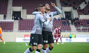 ΑΕΛ - ΠΑΟΚ: Το γκολ του Ντόουγκλας Αουγκούστο για το 0-2 (vid)