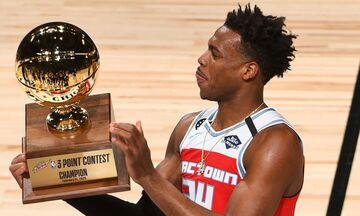 2020 NBA All-Star Weekend: Χιλντ με buzzer beater στον διαγωνισμό τριπόντων! (vid)