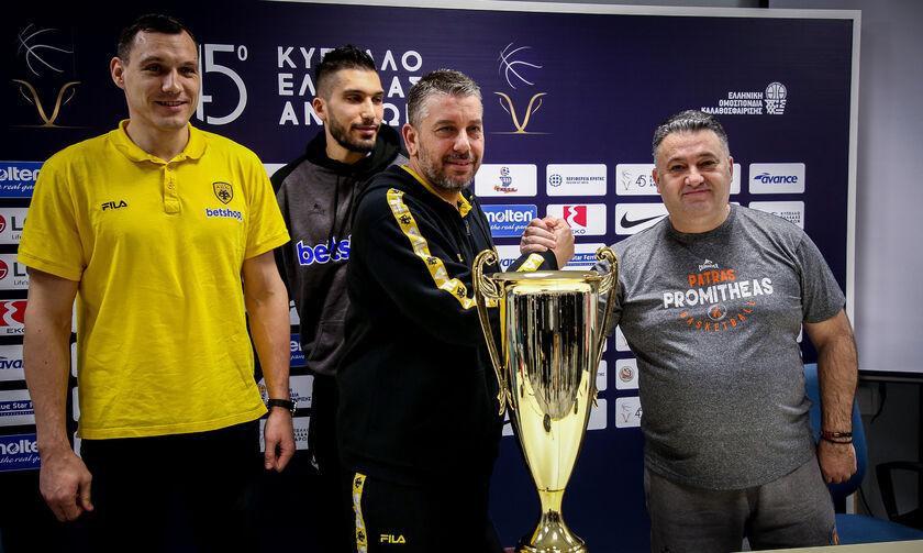 Κύπελλο Ελλάδος: Για το τρόπαιο στον τελικό ΑΕΚ και Προμηθέας