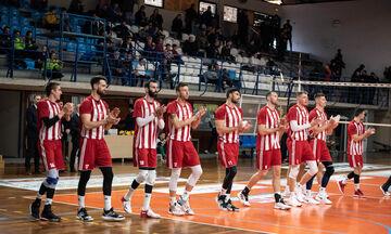 Εθνικός Αλεξανδρούπολης - Ολυμπιακός 0-3: Κέρδισε με ελληνική ομάδα,  σετ με 25-8