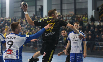 Ντράμεν - ΑΕΚ 27-27: Στα προημιτελικά του Challenge Cup οι «κιτρινόμαυροι»