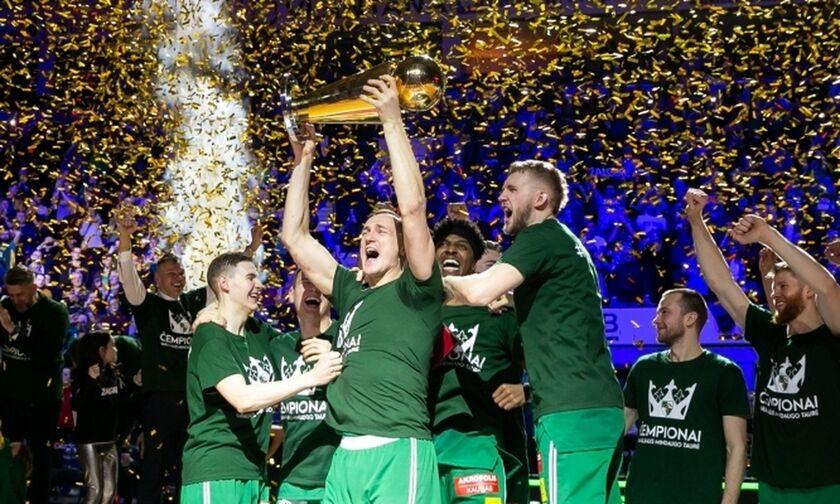Πίσω στη Ζαλγκίρις το Κύπελλο Λιθουανίας