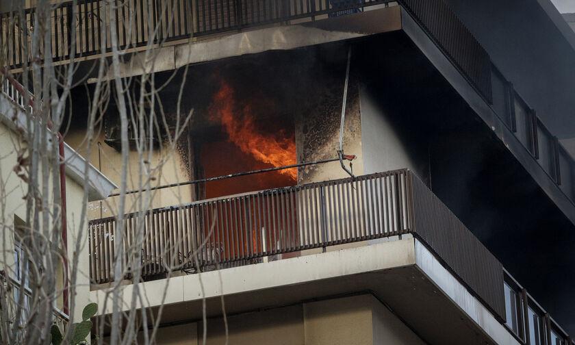 Ένας νεκρός από πυρκαγιά σε σπίτι στο Περιστέρι