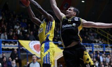 Κλήρωση Basketball Champions League: Με Βόννη η ΑΕΚ, με Χάποελ Ιερουσαλήμ το Περιστέρι