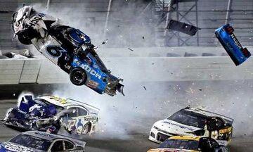 Nascar Daytona 500: Τρομακτικό ατύχημα, στο νοσοκομείο ο Ράιαν Νιούμαν! (vids)