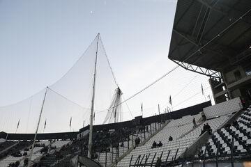 ΠΑΟΚ – Ολυμπιακός: Προστατευτικό δίχτυ σε όλη την Τούμπα