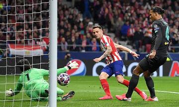 Ατλέτικο Μαδρίτης – Λίβερπουλ 1-0: Προβάδισμα πρόκρισης με Σαούλ!  (vid+highlights)