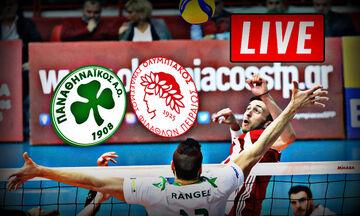 LIVE: Παναθηναϊκός - Ολυμπιακός (18:00)
