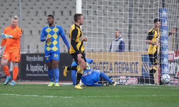 ΑΕΚ - Παναιτωλικός: Το γκολ του Κρίστιτσιτς για το 2-0 (vid)