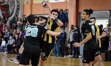 Διομήδης Άργους - ΑΕΚ 32-29: Την «έπιασε» ο Ολυμπιακός στην κορυφή