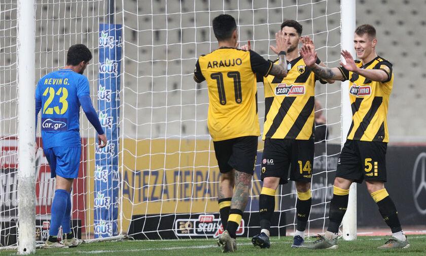 ΑΕΚ - Παναιτωλικός 4-0: Με τεσσάρα στους «4» (highlights)