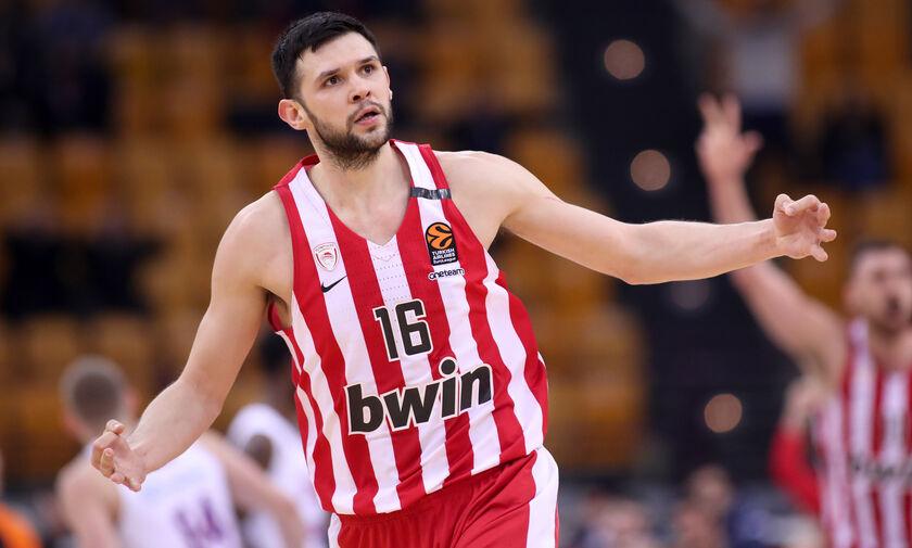 EuroLeague: Λαβωμένος με Βιλερμπάν ο Ολυμπιακός