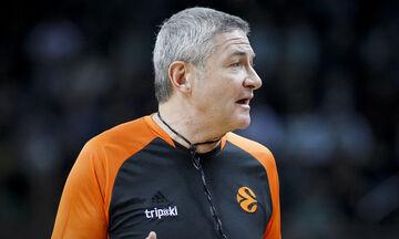 EuroLeague: Πρώτος διαιτητής ο Λαμόνικα στο Παναθηναϊκός - Μπαρτσελόνα