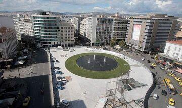 Αποκαλυπτήρια για την νέα πλατεία Ομονοίας (pics)